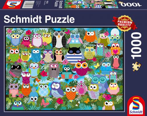 Schmidt Spiele Illustrierte Deutschlandkarte 1000 Teile Erwachsenenpuzzle Puzzle